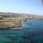 Flying into into Santa Rosa Island