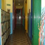 portas e corredores