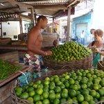 nathalie at market