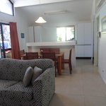 Open plan one-storey 2 bed-room villa