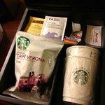 starbucks coffee & tea!
