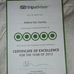 Tripadvisor Award of Excellence
