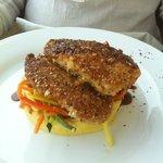 pollo al ajonjolí