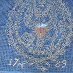Georgetown Seal mosaic