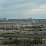 View of Pentagon from on 10th Floor North Tower