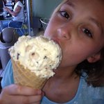 cookie dough ice cream on a hot day in islamorada ☺