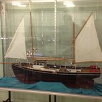 Replica of Pearling Lugger with more inside Museum