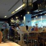 混搭風的餐廳