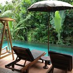 Private pool in Beji Geti suite