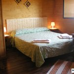 camera in chalet  fresco d'estate