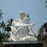 Pieta - on way from Munnar to Cochin