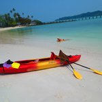 Kayak to nearby islands