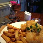 really fabulous food! (fish and chips)