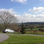 Can't really fault the views at Velwell House!