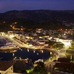 Sivota's night view from Panorama Botsaris