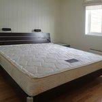 Large sleeping room.