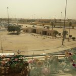View from the Restaurant of historical Bab Al Kuwait(Kuwait Gate).