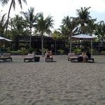 Santika beach chairs.