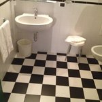 Toilet - Love the Vintage Tiles! :)