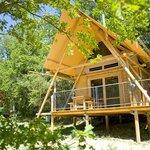 Photo de Camping Huttopia Dieulefit