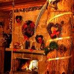 Christmas time interior