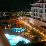 Nightly Sight Hotel Pool Area