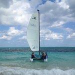 sailing with Eduardo