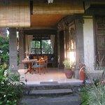 Terrasse de la chambre Shindu