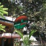Green House entrance
