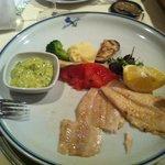 Uno dei piatti del ristorante
