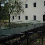 Ponte de acesso ao hotel