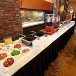 Sunday Brunch Buffet in Creations Restaurant