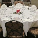 Banquet Room Set Up