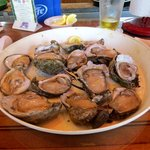 Dozen oysters on the half shell