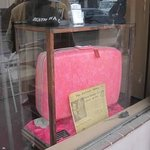 Jayne Mansfield's pink suitcaes