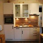 Offene Küche der Ferienwohnung 1