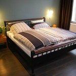 Schlafzimmer der Ferienwohnung 2