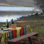Picnic by Loch Awe