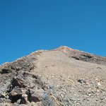Szczyt wulkanu
