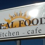 Solar Drive-In Updates Sign to Solar's Real Food Kitchen - Cafe