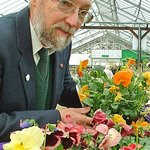 Wonderful gardens and this lovely man who helps choose plants