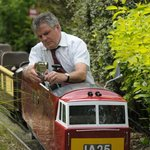 my favourite - a minature railway which goes all round the gardens