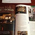 Recently awarded 2nd Best Irish Pub, by Ireland of The Welcomes magazine