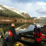 winter canoe sessions looking forward to summer...