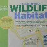 Wildlife Certificate