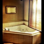 The Jacuzzi tub - Room 425