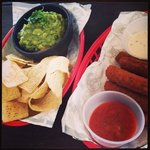 guac and cheese sticks