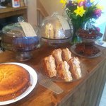 Fresh homemade cakes
