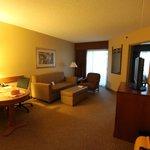 Suite, sitting room