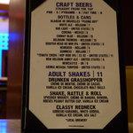 Excellent Craft Beers Grill 55